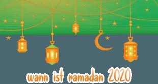 wann ist ramadan 2020